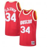 Houston Rockets Hakeem Olajuwon Mitchell & Ness Red 1993-94 Hardwood Classics Swingman Jersey