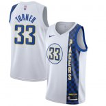 Nike Myles Turner White Indiana Pacers 2019/20 Finished Swingman Jersey – City Edition