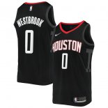 Houston Rockets Russell Westbrook Nike Black 2019/2020 Swingman Jersey - Statement Edition