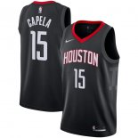 Houston Rockets Clint Capela Nike Black Swingman Player Jersey - Statement Edition