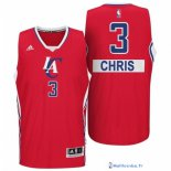 Maillot NBA Pas Cher Noël Los Angeles Clippers Chris 3 Rouge