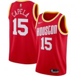 Houston Rockets Clint Capela Nike Red Hardwood Classics Finished Swingman Jersey