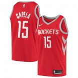 Houston Rockets Clint Capela Nike Red Swingman Jersey - Icon Edition