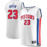 Detroit Pistons Blake Griffin Fanatics Branded White Fast Break Replica Player Jersey - Association Edition