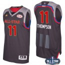 Maillot NBA Pas Cher All Star 2017 klay Thompson 11 Charbon