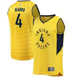 Indiana Pacers Victor Oladipo Fanatics Branded Gold Fast Break Player Jersey - Statement Edition