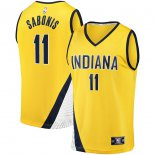 Indiana Pacers Domantas Sabonis Fanatics Branded Gold Fast Break Replica Jersey – Statement Edition