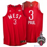 Maillot NBA Pas Cher All Star 2016 Chris Paul 3 Rouge