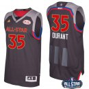 Maillot NBA Pas Cher All Star 2017 kevin Durant 35 Charbon