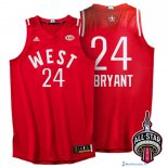 Maillot NBA Pas Cher All Star 2016 Kobe Bryant 24 Rouge