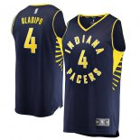 Indiana Pacers Victor Oladipo Fanatics Branded Navy Fast Break Replica Jersey - Icon Edition