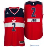 Maillot NBA Pas Cher Noël Washington Wizards John 2 Rouge