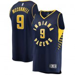 Indiana Pacers T.J. McConnell Fanatics Branded Navy Fast Break Player Replica Jersey - Icon Edition