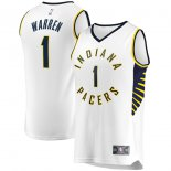 Indiana Pacers TJ Warren Fanatics Branded White Fast Break Player Replica Jersey - Association Edition