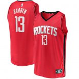 Houston Rockets James Harden Fanatics Branded Red Fast Break Player Replica Jersey - Icon Edition