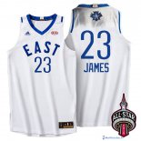 Maillot NBA Pas Cher All Star 2016 LeBron James 23 Blanc
