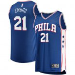 Philadelphia 76ers Joel Embiid Fanatics Branded Royal Fast Break Replica Player Jersey - Icon Edition