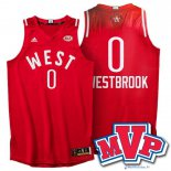 Maillot NBA Pas Cher All Star 2016 Russell Westbrook 0 Rouge