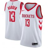 Houston Rockets James Harden Nike White Swingman Jersey - Association Edition