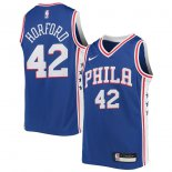 Philadelphia 76ers Al Horford Nike Royal Swingman Jersey - Icon Edition