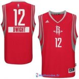 Maillot NBA Pas Cher Noël Houston Rockets Dwight 12 Rouge