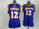 Maillot NBA Pas Cher Los Angeles Lakers Femme Dwight Howard 12 Bleu