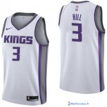 Maillot NBA Pas Cher Sacramento Kings George Hill 3 Blanc Association 2017/18