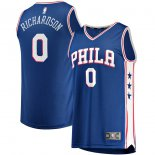 Philadelphia 76ers Josh Richardson Fanatics Branded Royal Fast Break Replica Jersey - Icon Edition