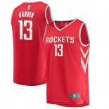 Houston Rockets James Harden Fanatics Branded Red Fast Break Replica Jersey - Icon Edition