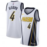 Indiana Pacers Victor Oladipo Nike White 201819 Swingman Jersey - Earned Edition
