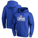 LA Clippers Royal Primary Logo Pullover Hoodie