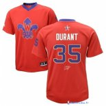 Maillot NBA Pas Cher All Star 2014 Kevin Durant 35 Rouge
