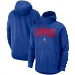 LA Clippers Nike Royal Spotlight Performance Pullover Hoodie