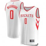 Houston Rockets Russell Westbrook Fanatics Branded White Fast Break Replica Jersey - Association Edition
