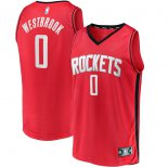 Houston Rockets Russell Westbrook Fanatics Branded Red Fast Break Replica Player Jersey - Icon Edition
