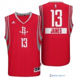 Maillot NBA Pas Cher Noël Golden State James 13 Rouge