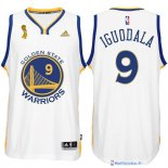 Maillot NBA Pas Cher Finales Golden State Warriors Blanc Iguodala 9
