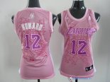 Maillot NBA Pas Cher Los Angeles Lakers Femme Dwight Howard 12 Rose