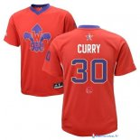 Maillot NBA Pas Cher All Star 2014 Stephen Curry 30 Rouge